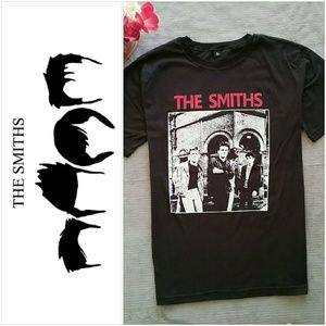 Vintage The Smiths Rock Band T shirt